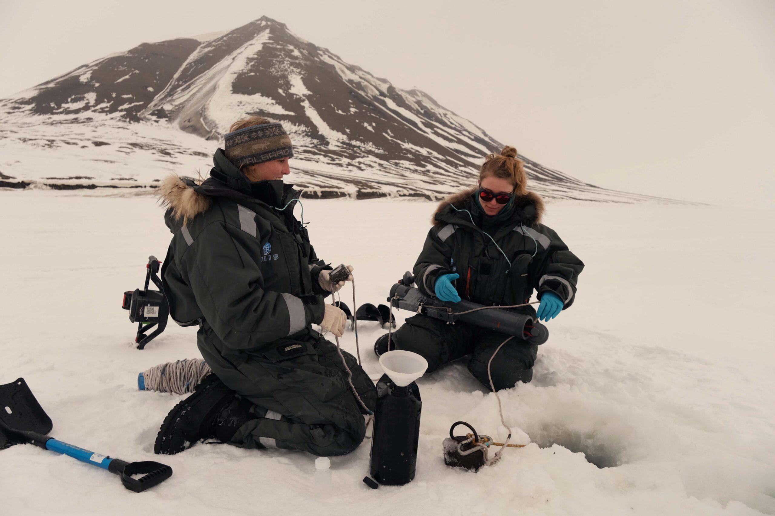 Hidden biodiversity inside of Svalbard's sea ice