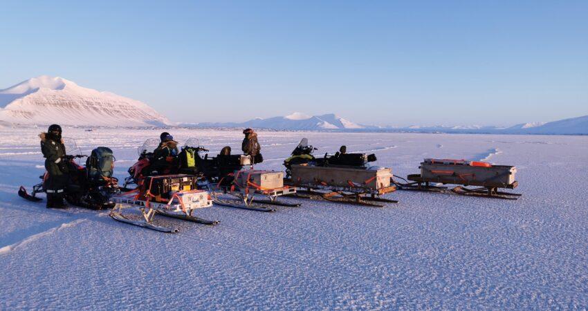 Van Keulenfjorden snowmobile
