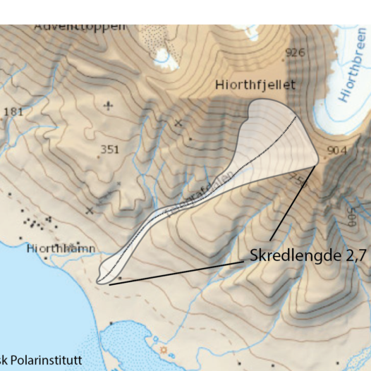 Featured image for: Continuous avalanche danger around Longyearbyen