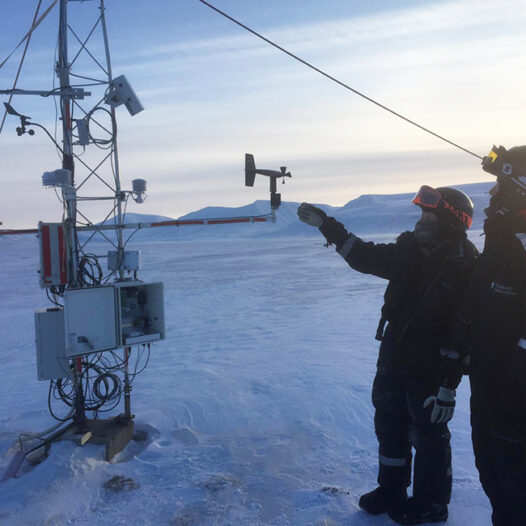Featured image for: Super local weather forecast in Longyearbyen