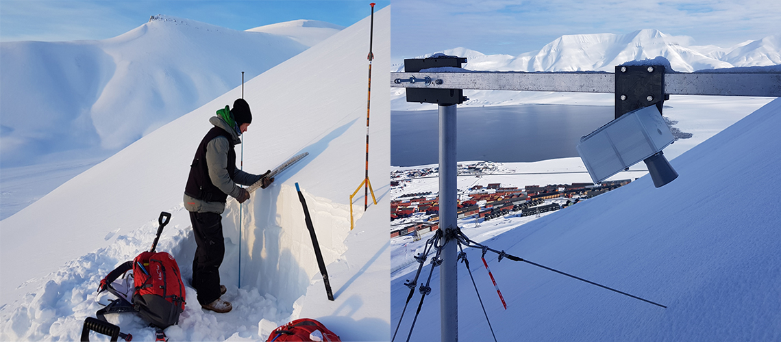 Snow observations in Svalbard