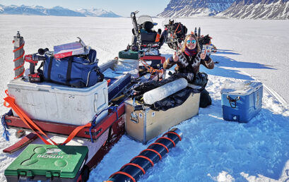 Featured image for 'Fjord ice in Svalbard – an important kindergarten for seafloor animal babies'