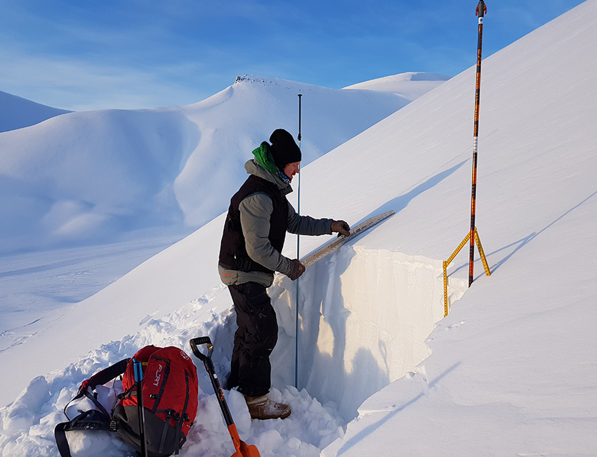 Refining knowledge about snow avalanches
