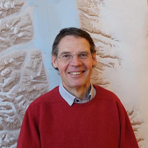 Portrait picture of professor Gijsbert Breedveld.